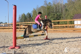 Спортивные тренировки на пони